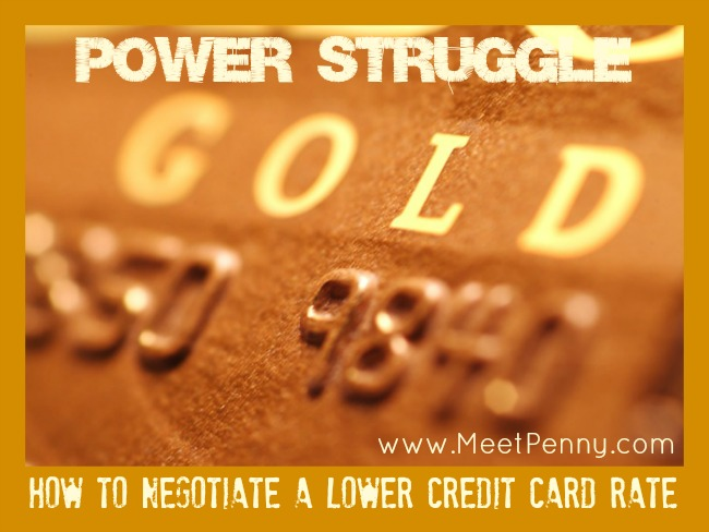 Power Struggle: The Credit Card Game