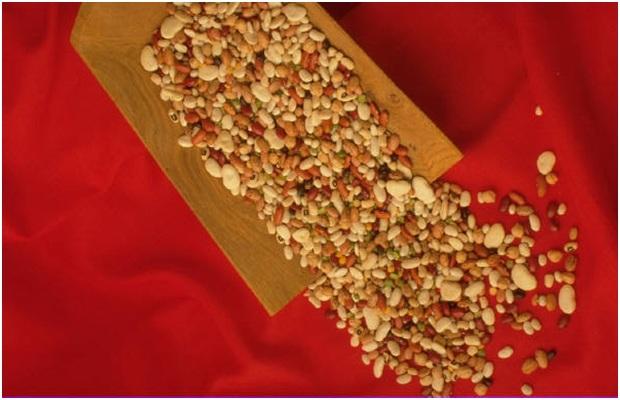 Beans & Rice: Lentils, Garlic, Tomatoes