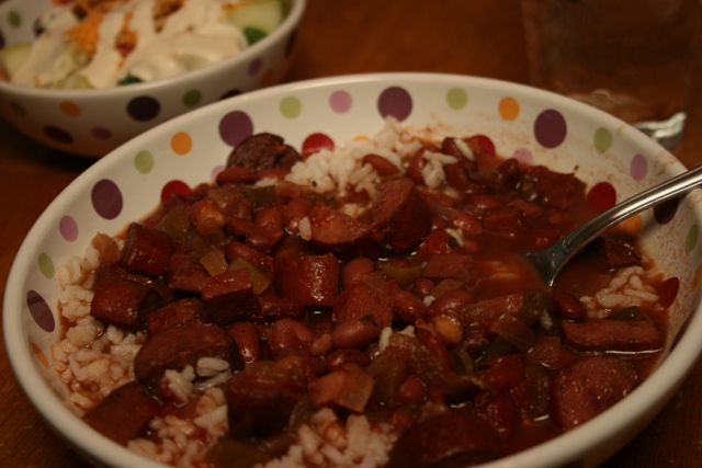 Beans & Rice: PennyMom's Red Beans & Rice