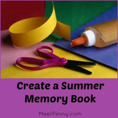 Create a Summer Memory Scrapbook Book