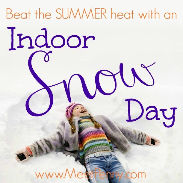Indoor Activities for Bored Kids: Indoor Snow Day