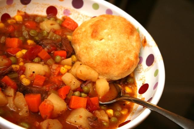 Recipe Beef Stew Amp Buttermilk Biscuits Meet Penny