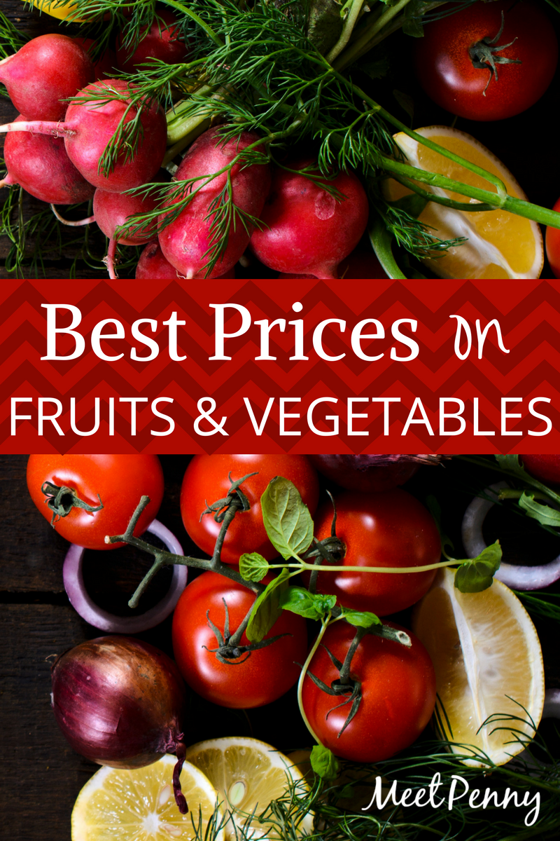 Budget Tips in the Produce Section