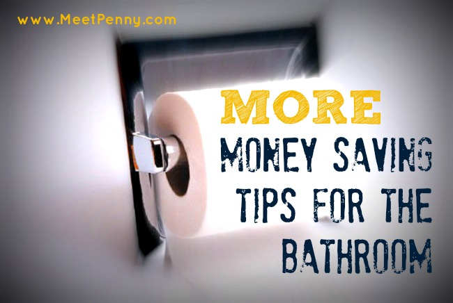 way to save money on bath products
