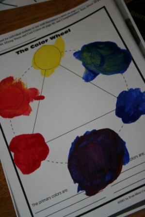 Teaching Children About Primary Colors