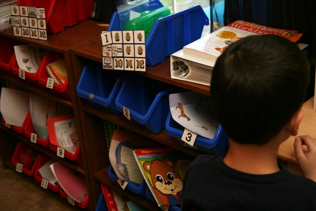Kindergarten Workbox Ideas