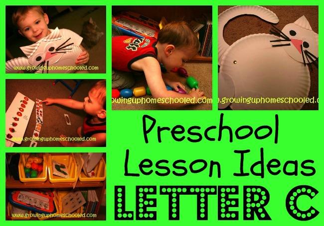 Preschool Workboxes: C is for Cat