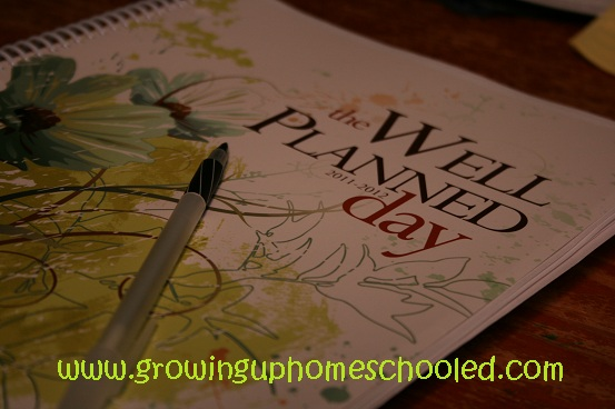 CLOSED ~ GIVEAWAY: The Well Planned Day Planner