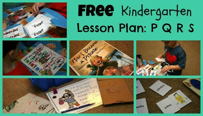 Kindergarten Letter P