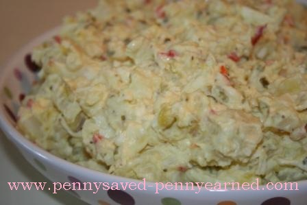 RECIPE: PennyMom's Potato Salad