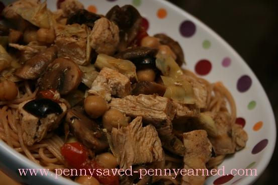 RECIPE: Rustic Mediterranean Chicken Pasta