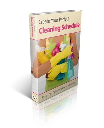 Reduce Stress ~ Create Your Own Cleaning Schedule