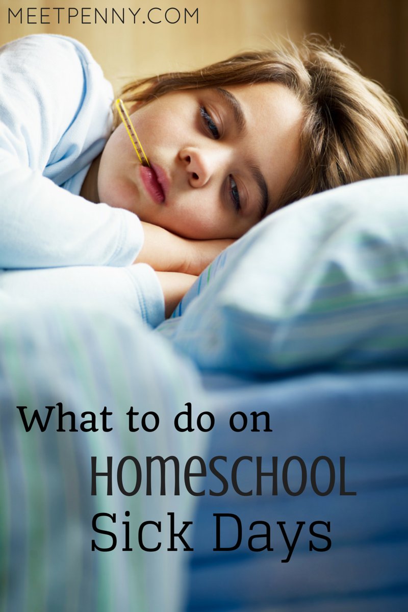 So what should you do on a homeschool sick day? Press through? Kick it into neutral? These are easy ideas for having school when your kids don't feel like having school.