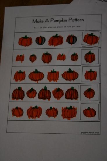 Pumpkins lapbook lesson