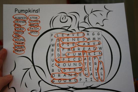 pumpkins unit lesson plan ideas