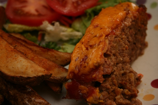 RECIPE: Bacon Cheeseburger Meatloaf with Caramelized Onions