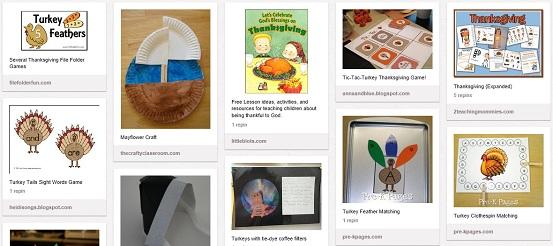 free homeschool Thanksgiving unit study
