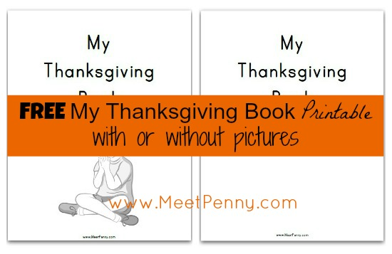 Free Thanksgiving Unit Study Lesson Plan and Printables - Meet Penny
