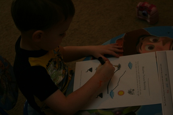 preschool lesson plan leaf lightning leaves letter l