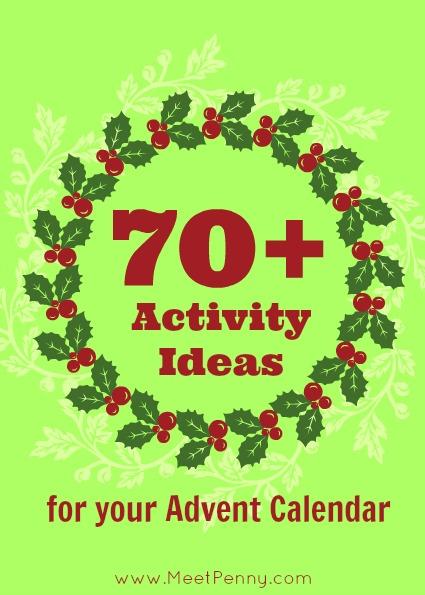 70 Activity Ideas For Your Advent Calendar
