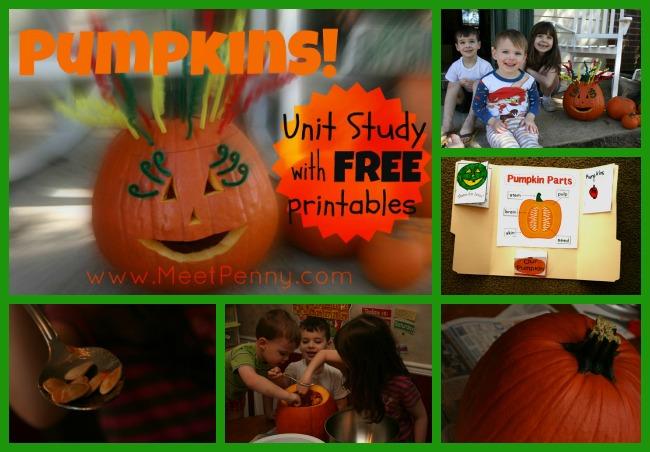 Pumpkins! Unit Study: Final Day (At Last)