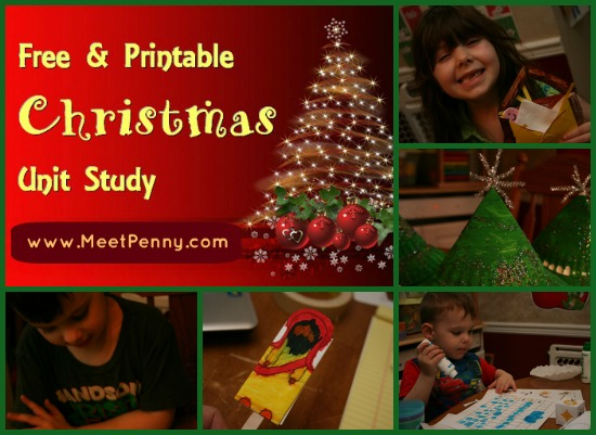 Christmas Unit Study: Week One in Review