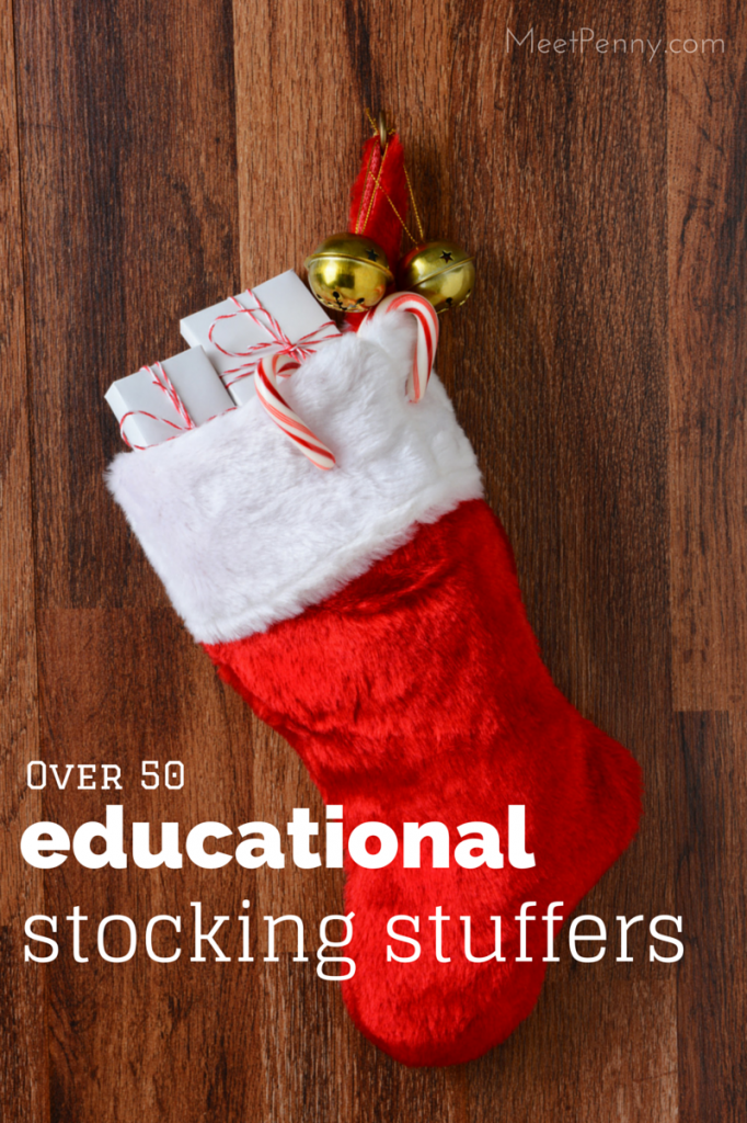 Even though these are educational stocking stuffer ideas, they are NOT boring. My kids would love these!