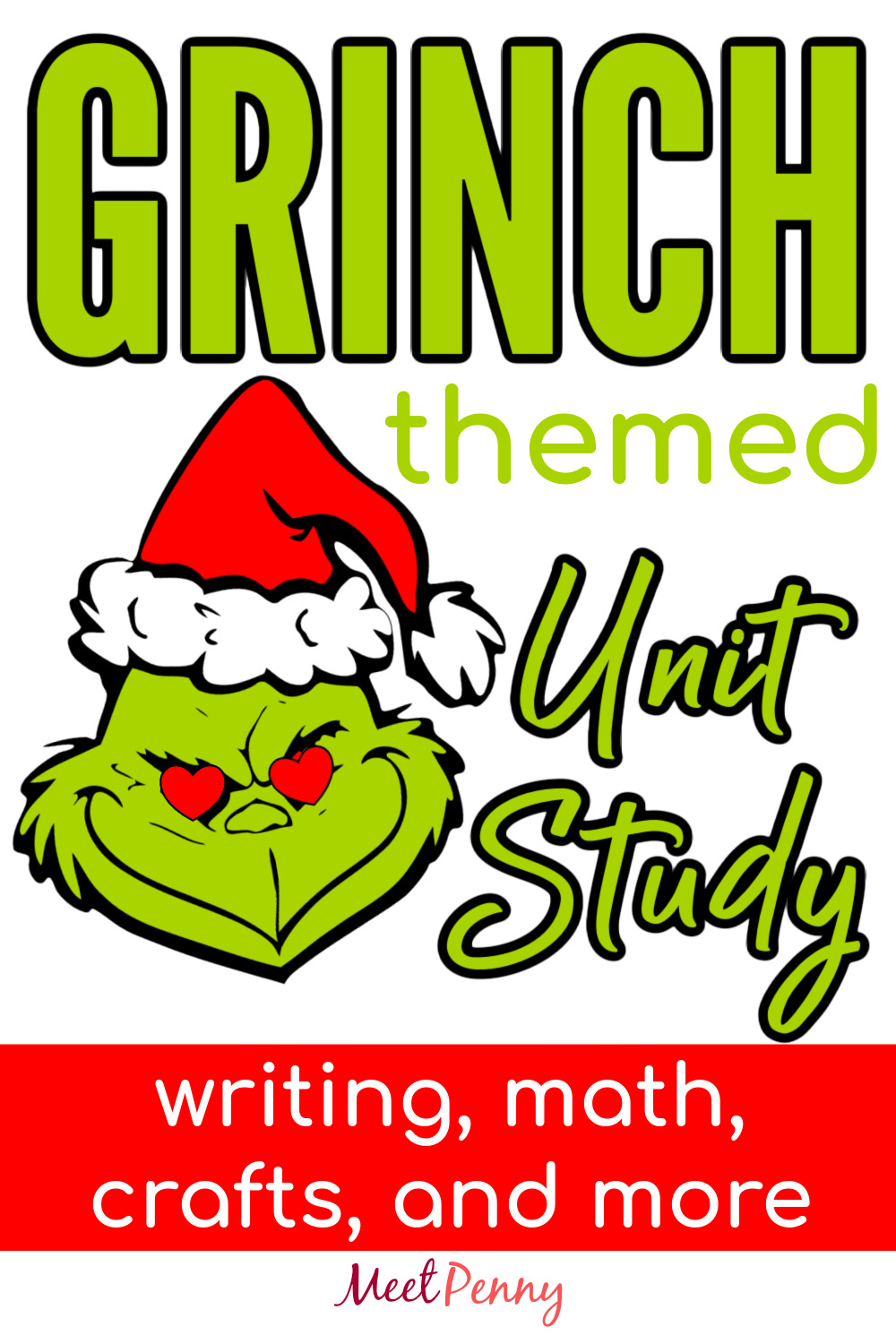 A fun Christmas learning day using Grinch themed unit study resources