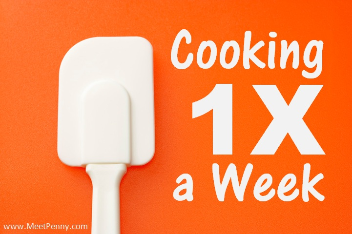 Cooking 1X a Week ~ The Dirty Dishes Dilemma
