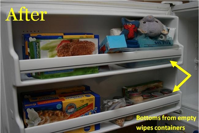 Pantry Challenge: Organizing the Freezer