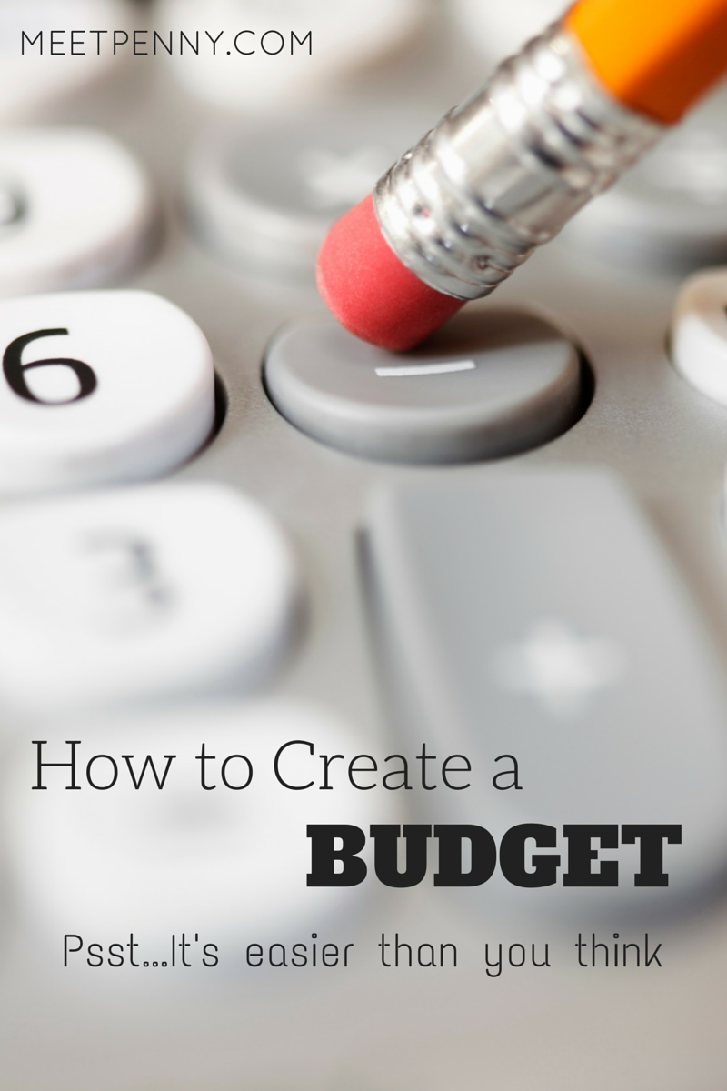 Wow. Making a budget seems super simple!