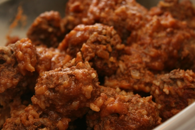 RECIPE: Porcupine Meatballs