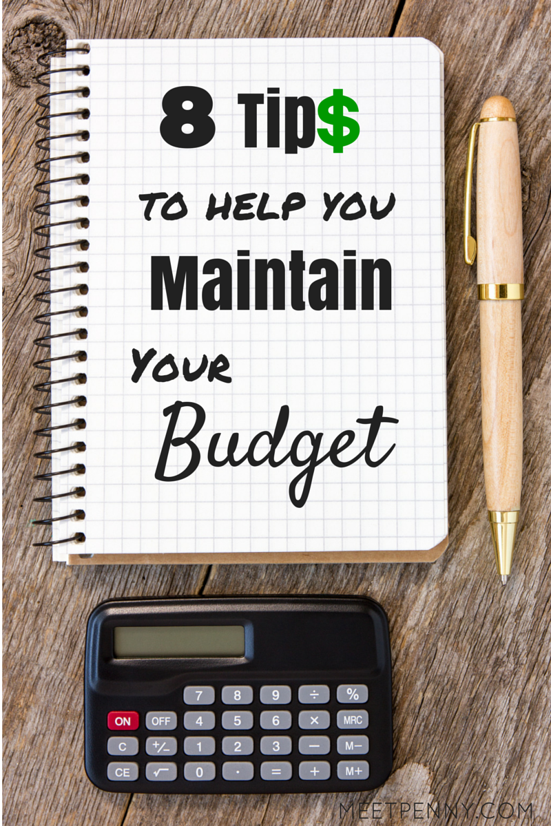 Really easy budgeting tips to help me stay on track.