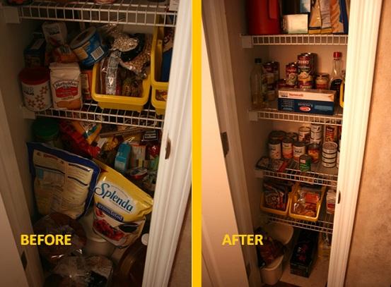 Pantry Challenge: Organizing the Stockpile