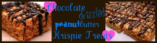 peanut butter chocolate rice krispy treats recipe