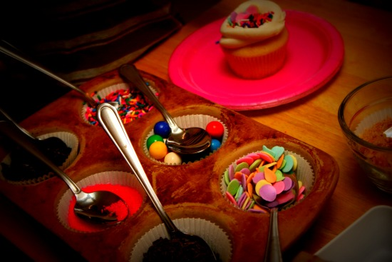 make a cupcake