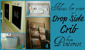what to do with a drop side crib