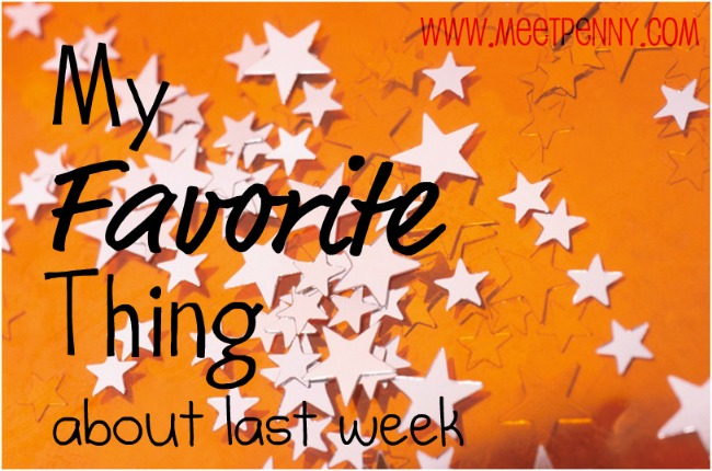 Favorite Posts from Last Week (& Linky Party)