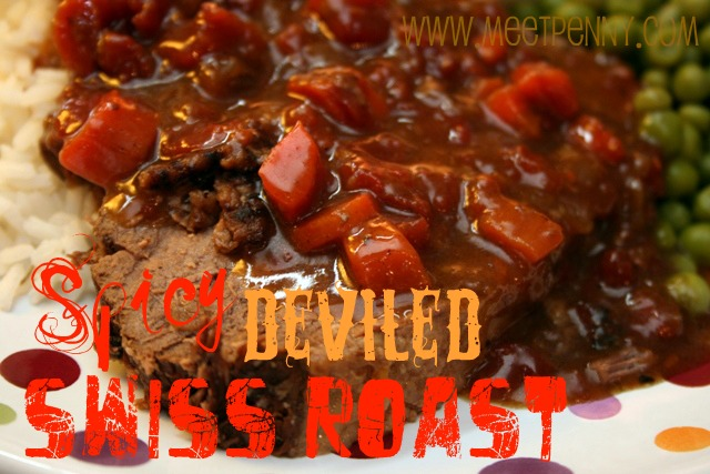 RECIPE: Spicy Deviled Swiss Roast (Crock Pot)
