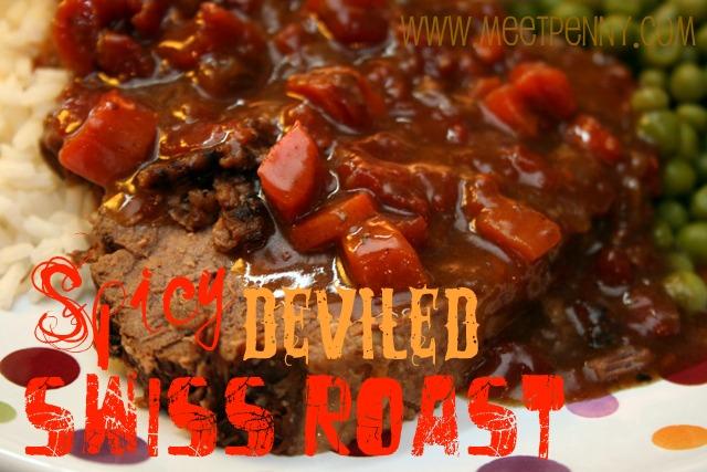 RECIPE: Spicy Deviled Swiss Roast (Crock Pot)