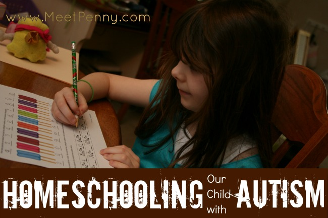 Homeschooling Our Child with Autism (PDD-NOS)