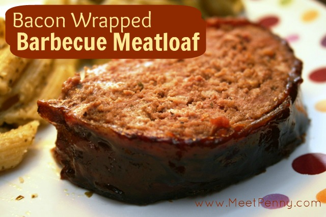 RECIPE: Bacon~Wrapped Barbecue Meatloaf