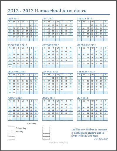 free printable homeschooling organizing