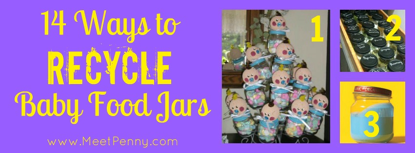 14 Ways to Recycle Baby Food Jars