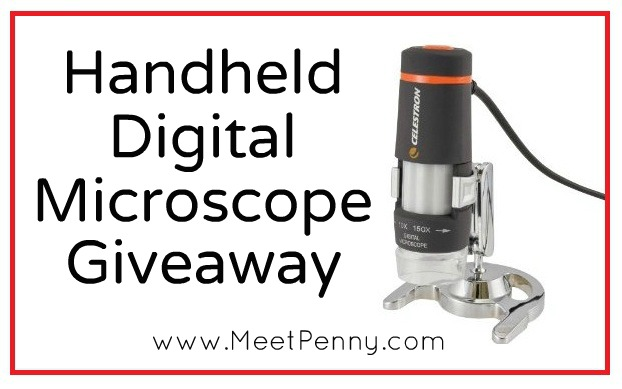 Celestron Handheld Digital Microscope Giveaway