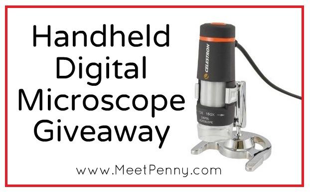 Celestron Handheld Digital Microscope Giveaway