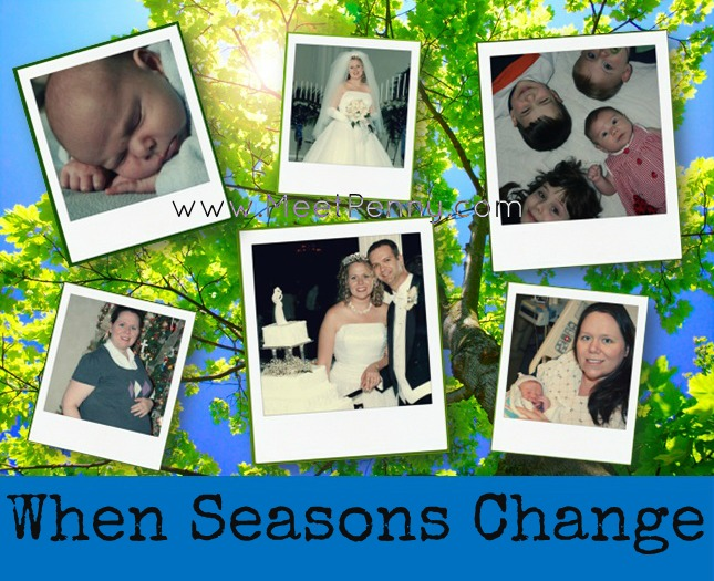 Seasons Change ~ Encouragement for Moms