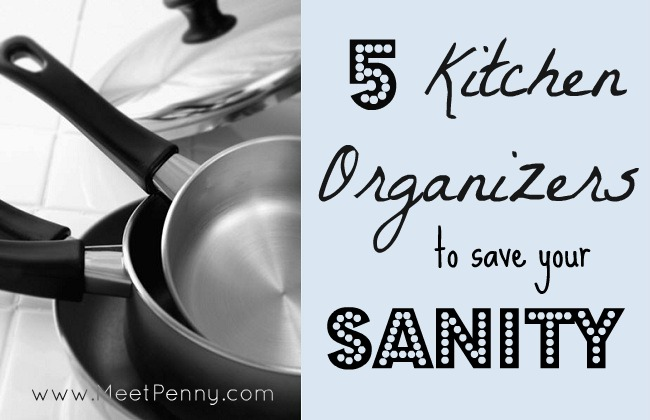 5 Kitchen Organizers to Save Your Sanity