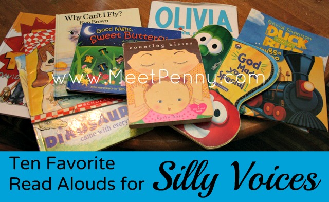 10 in 10: Ten Favorite Read Alouds for Silly Voices