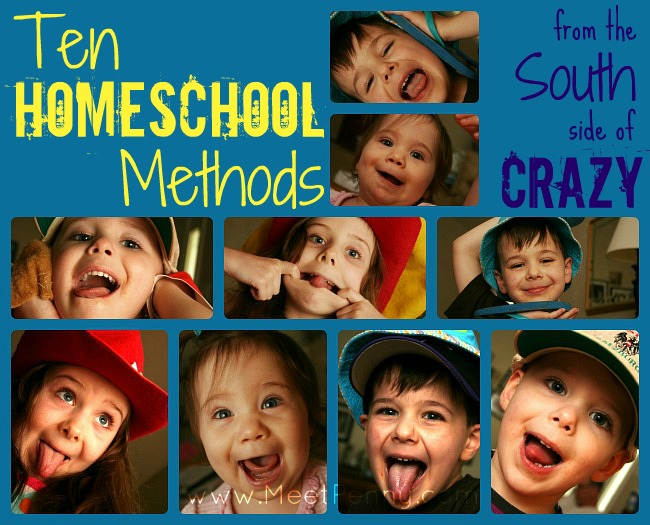 10 in 10: Ten Homeschool Methods from the South Side of Crazy